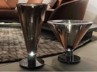 Lámpara de mesa LED de vidrio de Murano ACCADEMIA | Lámpara de mesa