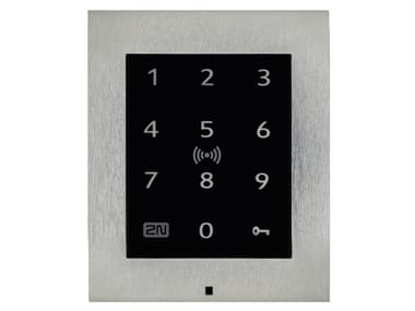 Building automation system for access control for managing video surveillance 2N® ACCESS UNIT 2.0 TOUCH KEYPAD & RFID