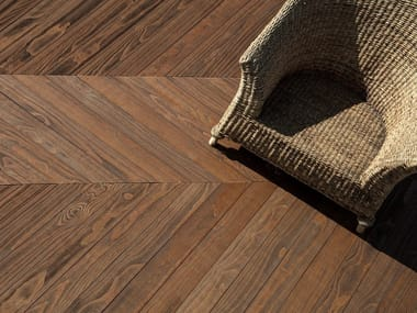 Accoya® wood decking ACCOYA® HERRINGBONE