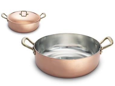 Copper pot with lid ACGPORS03000 | Pot