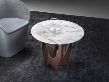 Round marble coffee table ACHEI | Coffee table