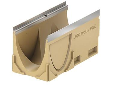 Canale in calcestruzzo polimerico ACO DRAIN® Multiline V200 - 500 mm