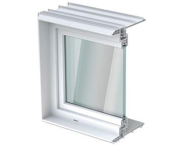 Finestra oscillo-battente in PVC con doppio vetro ACO THERM® 1.2 | Finestra con doppio vetro