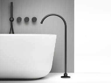 Stainless steel bathtub set ACQUIFERO | Bathtub set