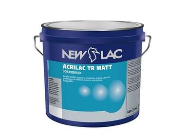 Trasparente acrilico opaco ad acqua ACRILAC TR MATT