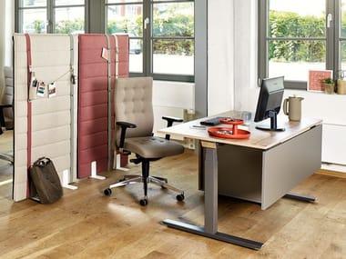 Height-adjustable workstation desk ACTIVE SMART | Height-adjustable office desk