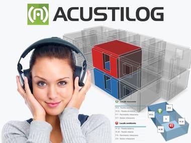 Acoustic insulation for buildings ACUSTILOG