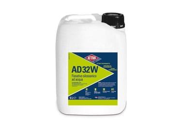 Fissativo ad acqua idrorepellente a base di polimeri silossanici AD 32 W