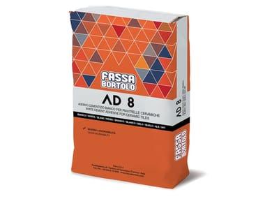 Adesivo monocomponente per pavimenti e rivestimenti AD 8