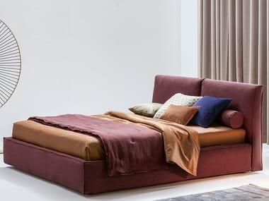 Doppelbett Bett mit Polsterkopfteil ADA   Doppelbett Bett