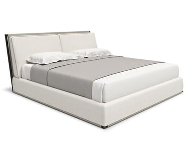 Upholstered fabric bed ADAM