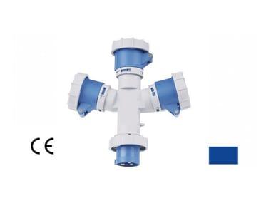 Adattatore industriale ADATTATORI IP 67 230 VOLT - 3 USCITE