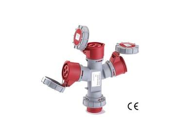 Adattatore industriale ADATTATORI IP 67 380 VOLT - 3 USCITE