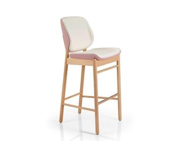 Barstool with footrest ADELE | Barstool