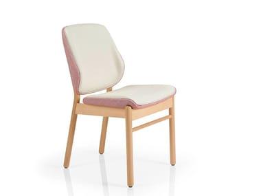 Cadeira de tecido ADELE | Cadeira