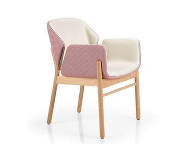 Chair with armrests ADELE | Chair with armrests