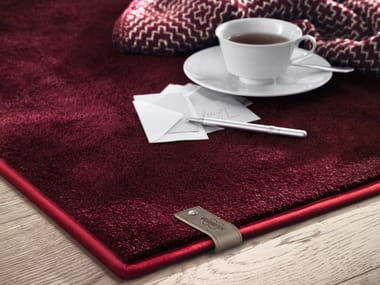 Solid-color rug ADELE