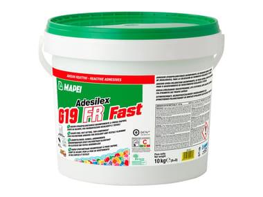 Adesivo epossipoliuretanico per pavimenti resilienti ADESILEX G19 FR FAST