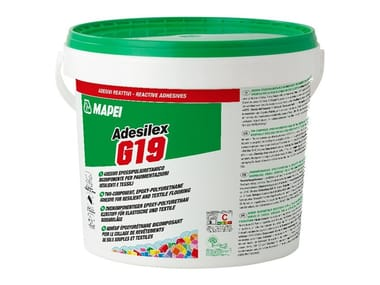 Adesivo epossipoliuretanico bicomponente per pavimentazioni ADESILEX G19