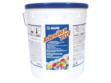 Adesivo per rivestimenti in tessuto ed in fibra di vetro ADESILEX TDV