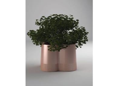Galvanized plate Flower pot AERO | Flower pot