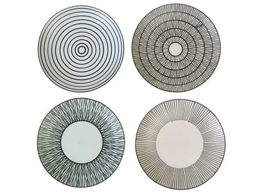 Ceramic plates set AFRESH | Serving plate