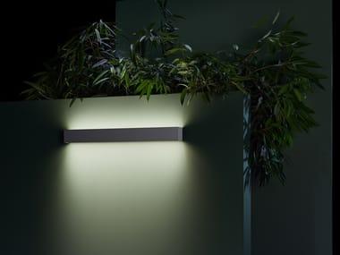 Lampada da parete per esterno a LED a luce diretta e indiretta in alluminio AFRODITA INFINITE