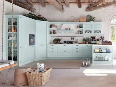 Decapé kitchen with peninsula AGNESE | Decapé kitchen