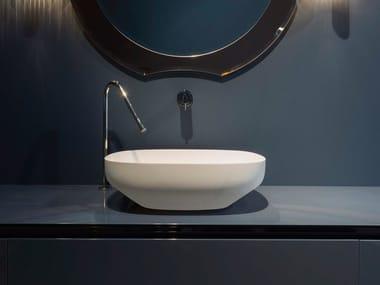 Lavabo da appoggio ovale in Flumood® AGO | Lavabo
