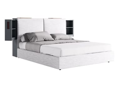 Hotel bed with storage headboard AIACE