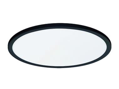 Plafoniera a LED in acciaio AIDA