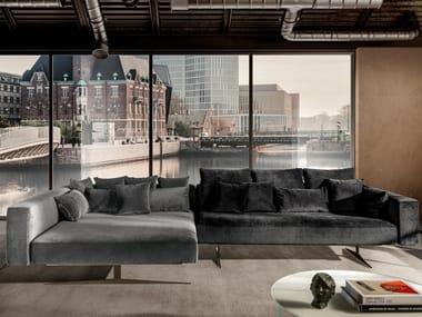 Sectional fabric sofa AIR | Sectional sofa
