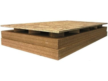 Ventilated roof system AIREK ECOWOOD   Wood fibre ventilated roof system