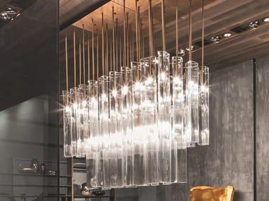 Murano glass pendant lamp AIRLIGHT