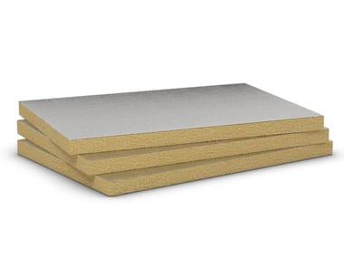 Pannello termoisolante in lana di roccia AIRROCK 33 ALU