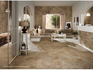 Porcelain stoneware flooring with stone effect AIX | Flooring