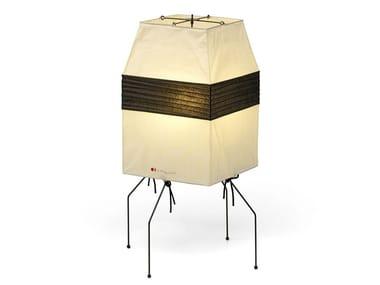 Lampada da tavolo in carta giapponese AKARI UF1-H