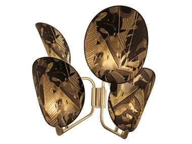 Indirect light brass wall light AKIRA | Wall light