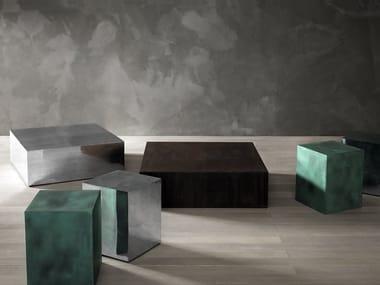 Metal stool / coffee table AL