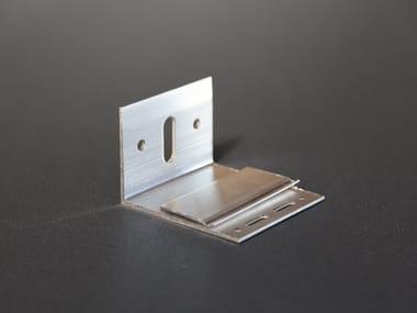 """Staffa ad """"L"""" in alluminio AL90"""