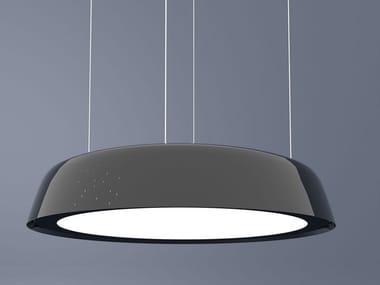 Contemporary style LED direct light PMMA pendant lamp ALABAMA