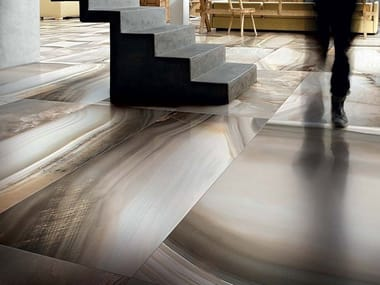 Wall/floor tiles with marble effect ALABASTRI DI REX