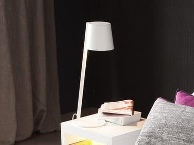 Lampada da comodino a LED a luce diretta e indiretta con braccio fisso ALADINO
