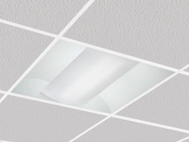 Lampada per controsoffitti a LED a luce diretta a incasso ALBA 9145