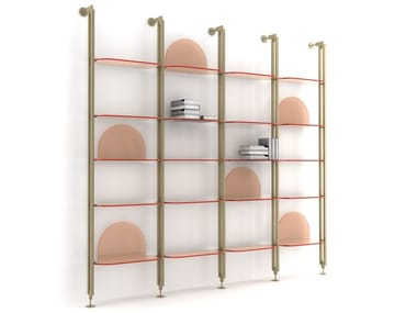 ALBA | Wall-mounted bookcase