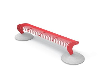 Backless steel Bench ALBATROS | Backless Bench