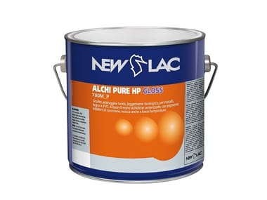 Smalto antiruggine lucido ALCHI PURE HP GLOSS BIANCO