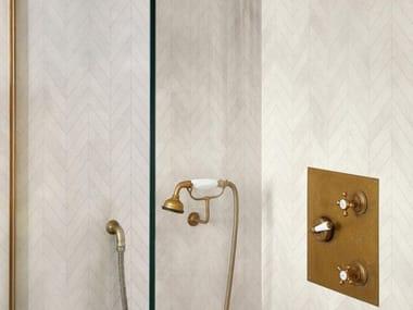Mosaico in gres porcellanato ALCHIMIA | White Mosaico Spina