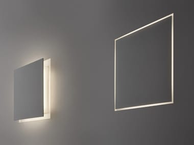LED indirect light wall lamp ALDECIMO