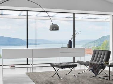Modular lacquered sideboard ALEA LIVING | Sideboard